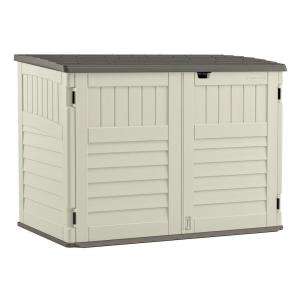 Suncast Stow-Away 3 ft. 8 inch x 5 ft. 11 inch Resin Horizontal Storage Shed by Suncast