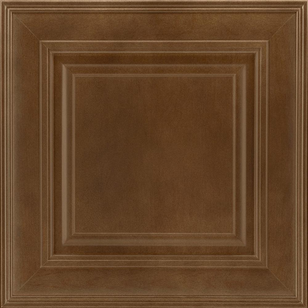Kitchen Cabinet Door Replacement Options: American Woodmark 14-9/16x14-1/2 In. Cabinet Door Sample