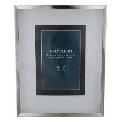 5 in. x 7 in. Silver Picture Frame (for All Occasions, New Year's, etc.)