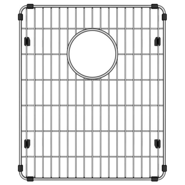 Stainless Steel Kitchen Sink Bottom Grid Fits Bowl Size 14.5 in. x 17 in.