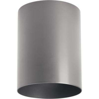Metallic Gray Integrated LED Outdoor Flush Mount