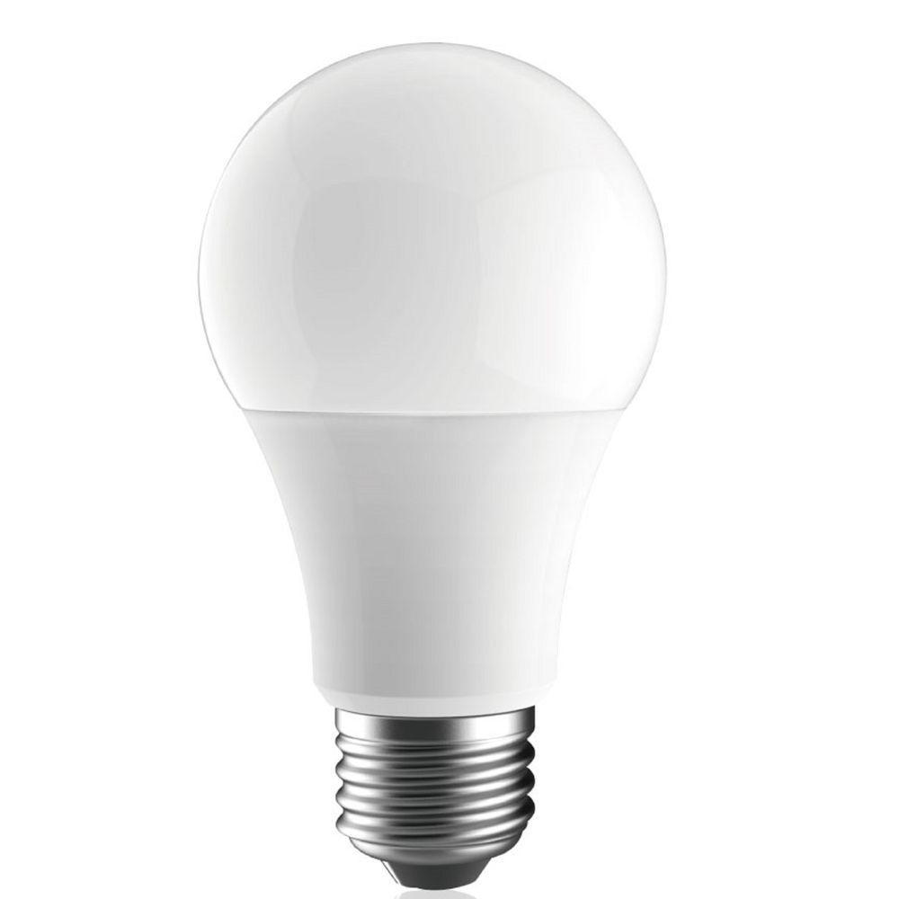 Katerra 60W Equivalent Soft White A19 LED Light Bulb (10