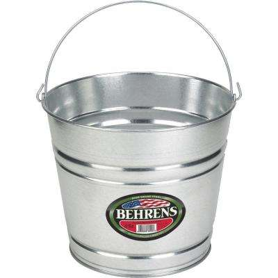 8 Qt. Galvanized Steel Pail