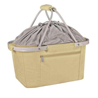 26-Can Metro Tan Basket Cooler Tote