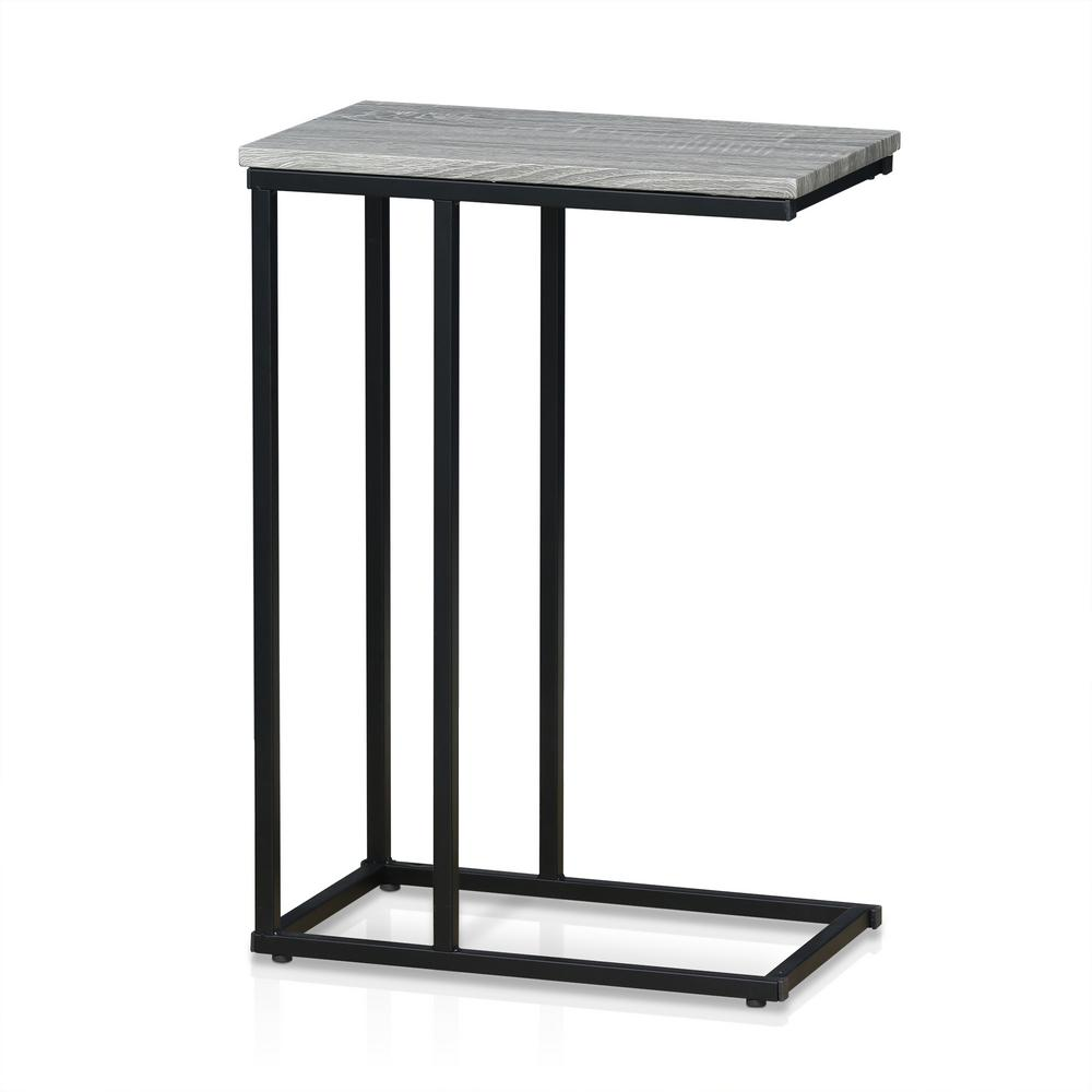 Furinno Modern Dark Oak Side Table