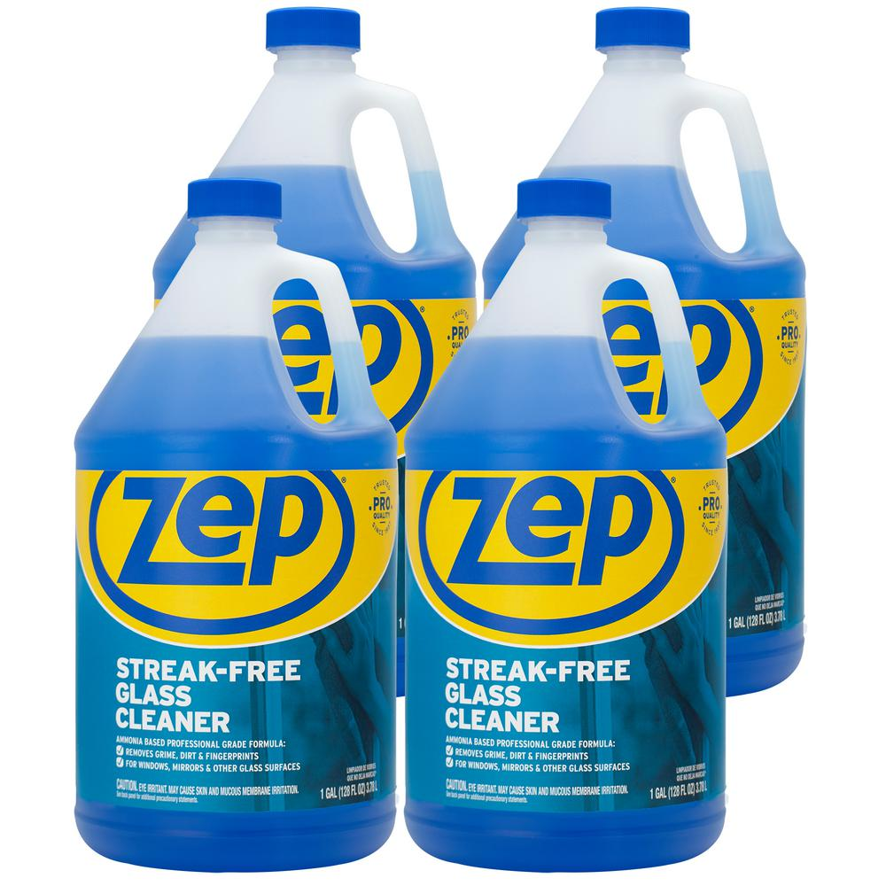 ZEP 1 Gal. Streak-Free Glass Cleaner (Case of 4)