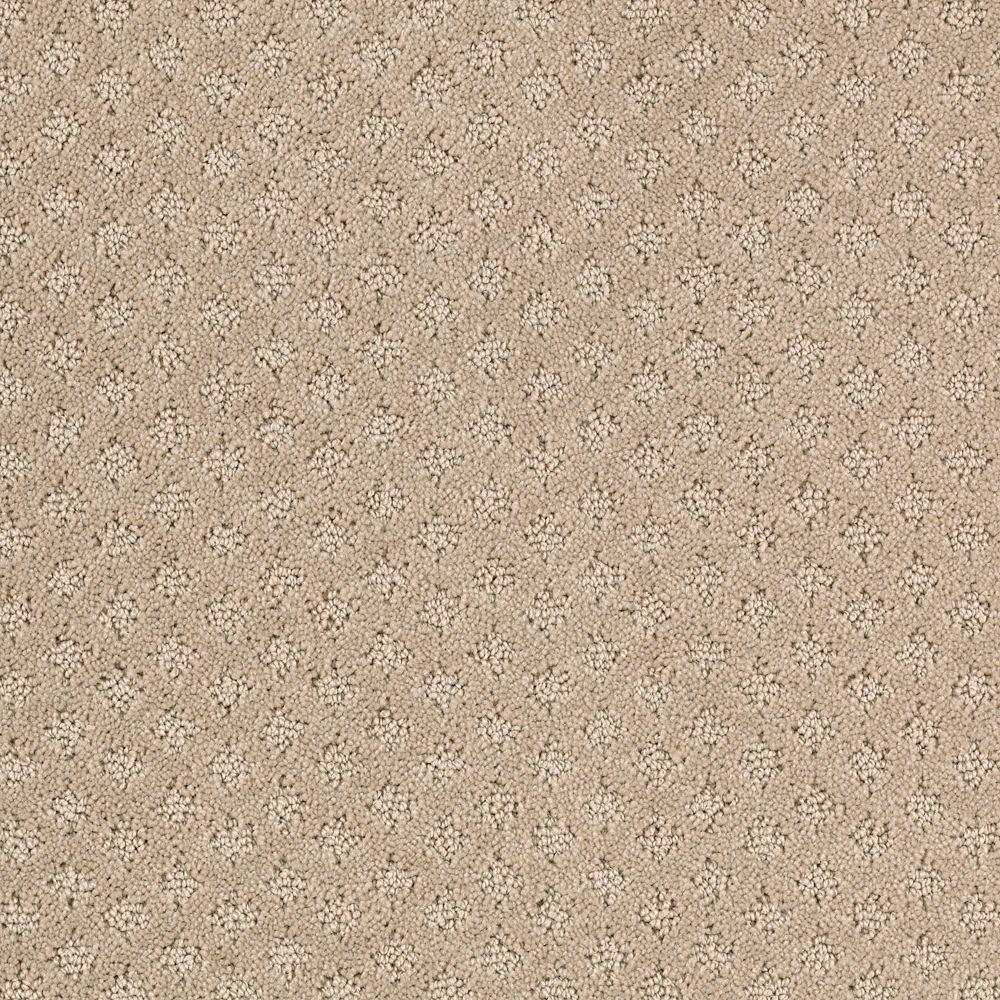 Lilypad - Color Taupe Whisper Pattern 12 ft. Carpet