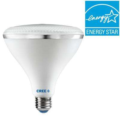 120W Equivalent Bright White (3000K) PAR38 Dimmable LED 45 Degree Flood Light Bulb