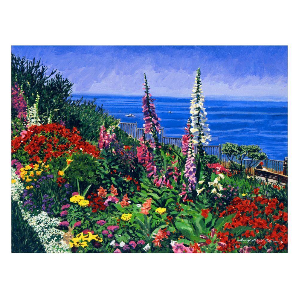 26 in. x 32 in. Laguna Niguel Summer Canvas Art