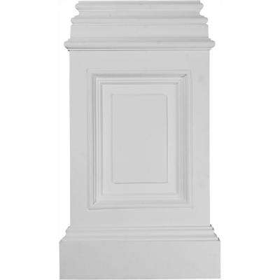 14-3/8 in. x 2-1/2 in. x 24-3/4 in. Polyurethane Classic Large Pedestal Base