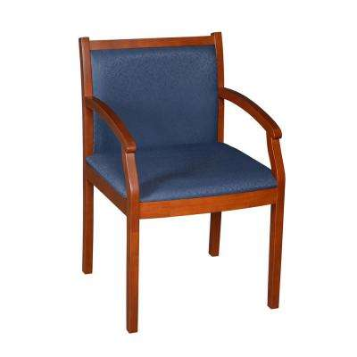 Regent Cherry/Blue Side Chair