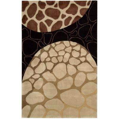 Dimensions Multicolor 3 ft. 6 in. x 5 ft. 6 in. Area Rug