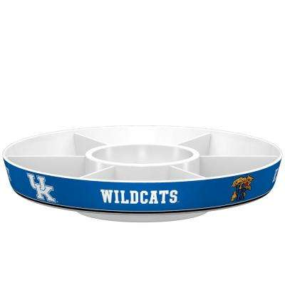 Kentucky Wildcats Blue Melamine Party Platter