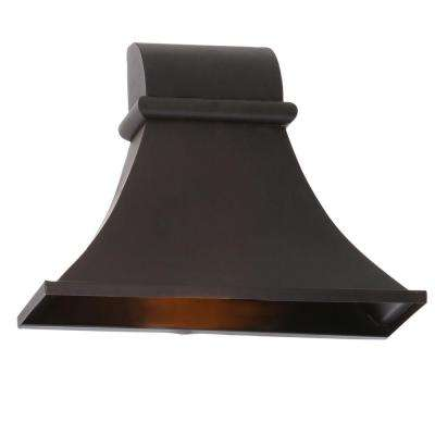 Dark Sky Revere Collection 10 in. 1-Light Flemish Outdoor Wall Lantern