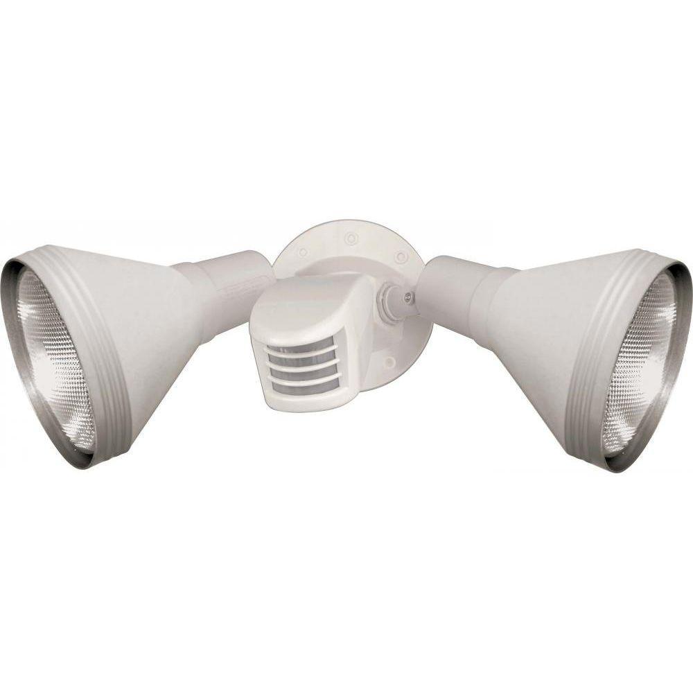 Tony 2-Light White Flood Light