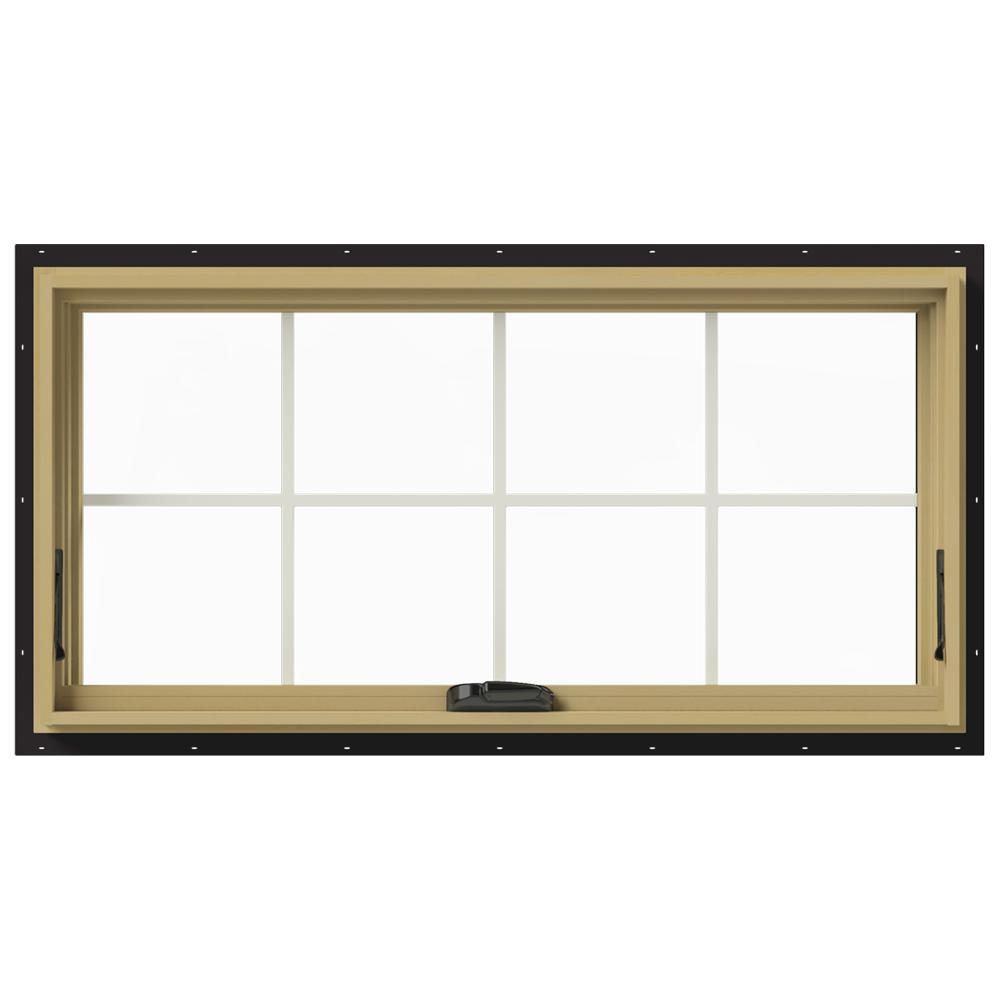 48 in. x 24 in. W-2500 Awning Aluminum Clad Wood Window