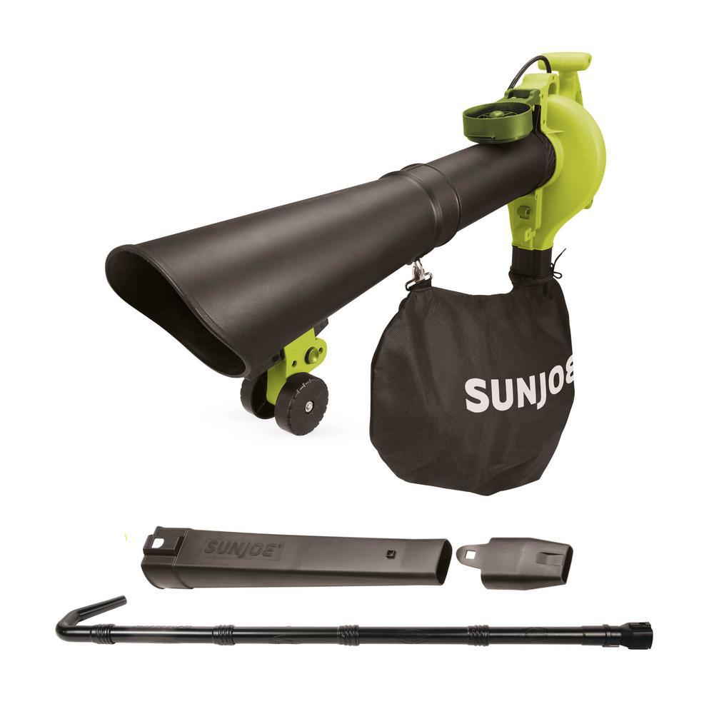 250 MPH 440 CFM 14 Amp Electric Handheld Blower/Vacuum/Mulcher with Gutter Attachment