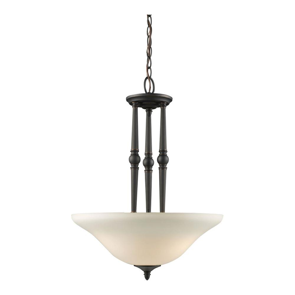 Filament Design Costa 3-Light Bronze Pendant
