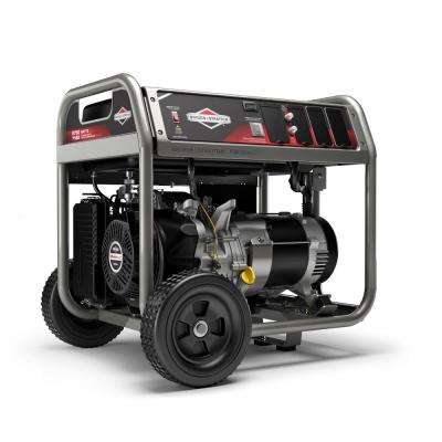 Home Series 5,750-Watt Gasoline Powered Recoil Start Portable Generator with OHV Engine