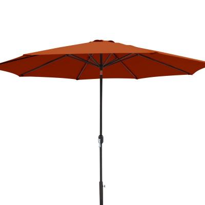 Calypso 11 ft. Market Umbrella with Adjustable Tilt Weather-Resistant Olefin Canopy Wind Vent