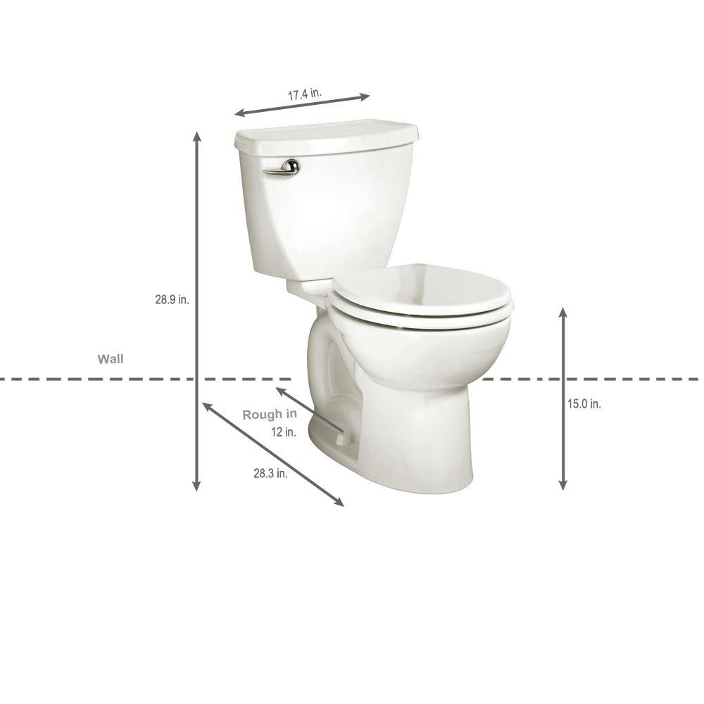 Strange American Standard Cadet 3 Powerwash 2 Piece 1 28 Gpf Single Flush Round Toilet In White Seat Not Included Ibusinesslaw Wood Chair Design Ideas Ibusinesslaworg