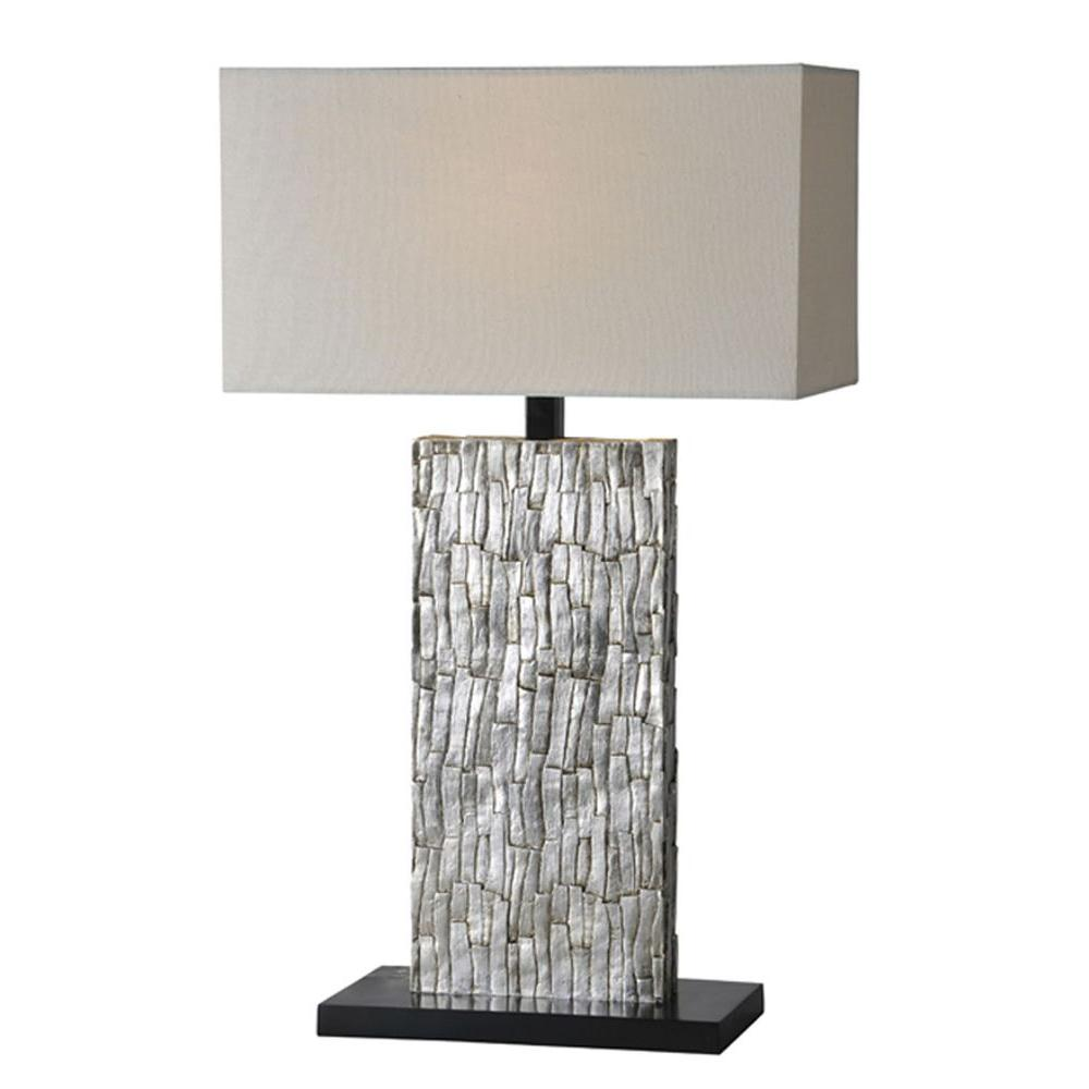 Illumine luna 28 in silver leaf table lamp cli df49538055 the silver leaf table lamp aloadofball Image collections