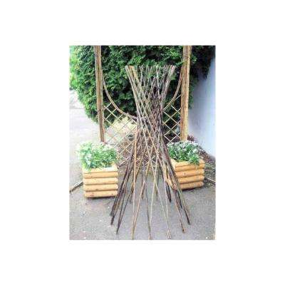 48 in. H Willow Funnel Trellis