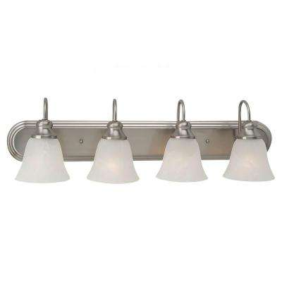 Windgate 4-Light Brushed Nickel Vanity Fixture