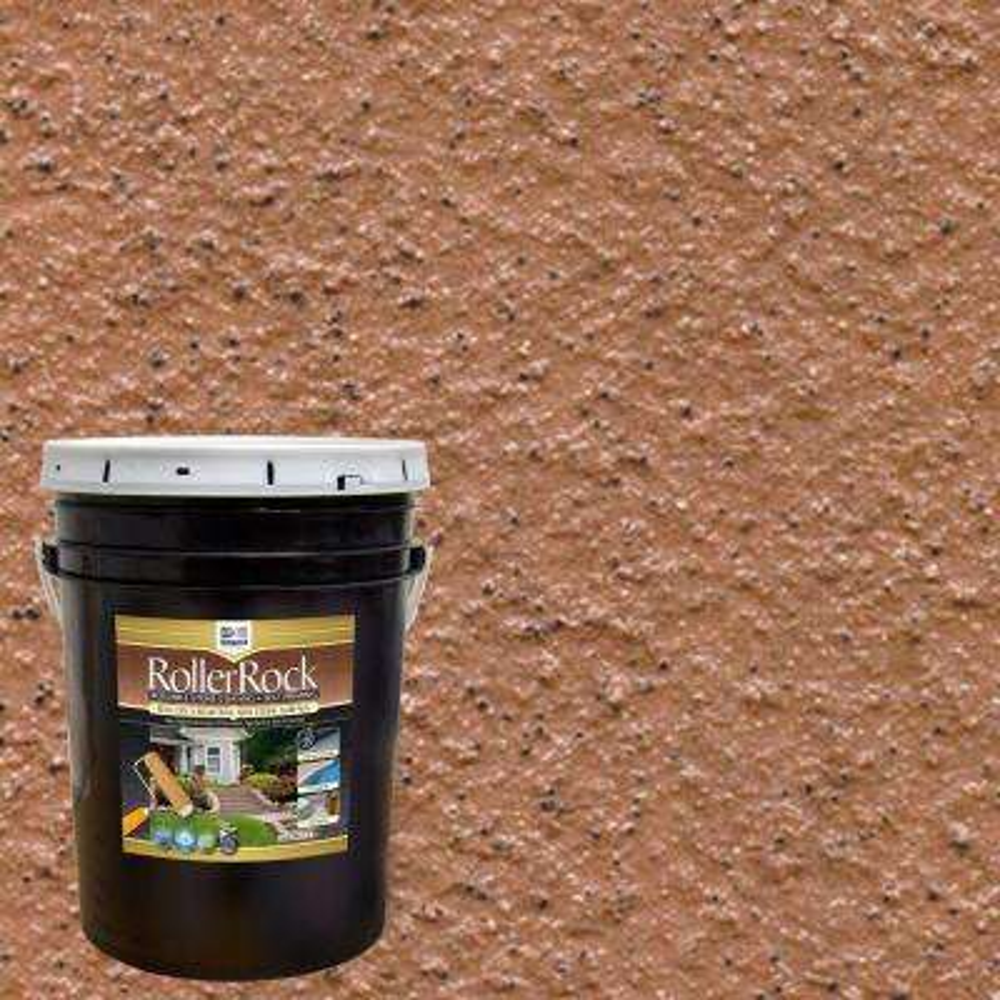 5 gal. Self-Priming Cinnamon Exterior Concrete Coating