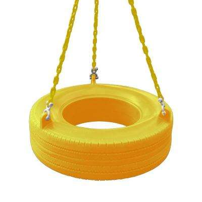 Yellow 360° Turbo Tire Swing
