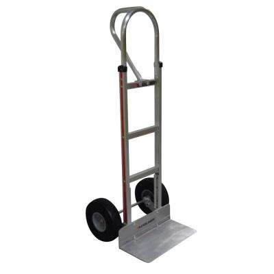 8052faf376e6 500 lb. Capacity Aluminum Hand Truck with Vertical Loop Handle, Extruded  Nose Plate and Microcellular Foam Wheels