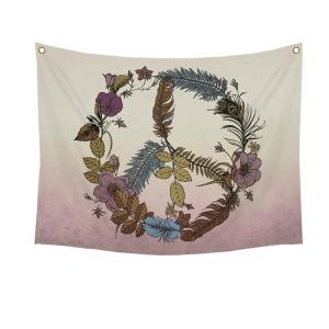 Stratton Home Decor Botanical Peace Wall Tapestry by Stratton Home Decor