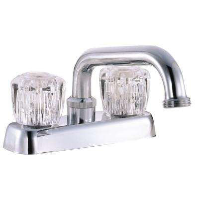 2-Handle Laundry Faucet in Polished Chrome