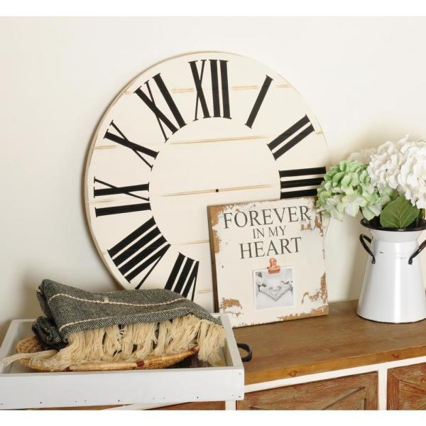 30 in. Farmhouse Roman Numeral Art Wall Hanging