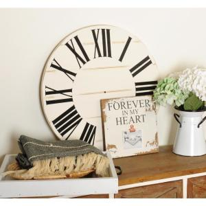 36 in. Farmhouse Roman Numeral Art Wall Hanging
