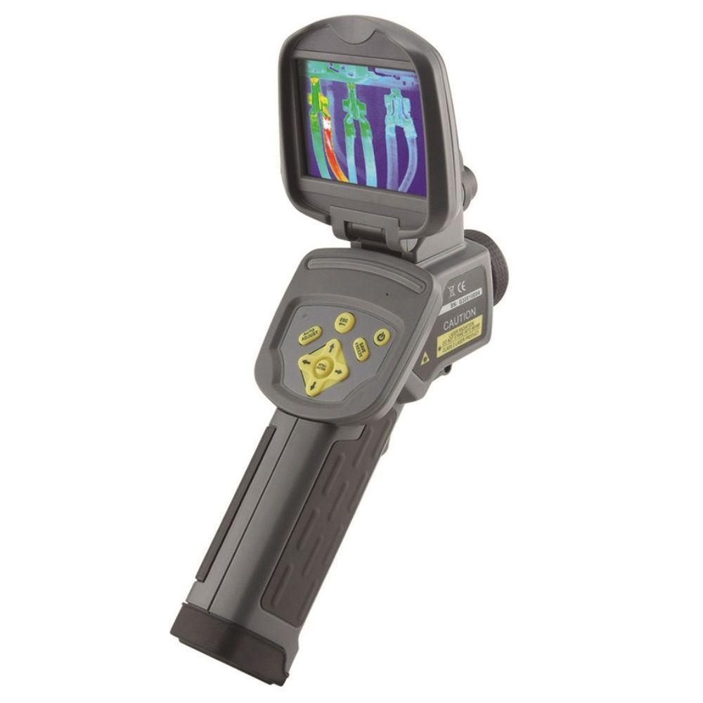 General Tools Predator Series Thermal/Infrared Visual ImagingCamera w/ LaserPointer, Video Streaming, Voice Annotation, LED Flashlight