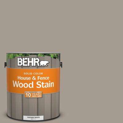 1 gal. #N200-4 Rustic Taupe Solid House and Fence Wood Stain