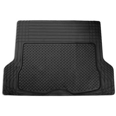 Black Trimmable Heavy Duty Vinyl 56 in. x 43 in. Cargo Mat