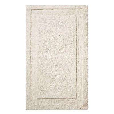 34 in. x 21 in. Spa Bath Rug in Natural