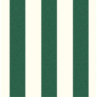 Mason Forest Green Striped Outdoor