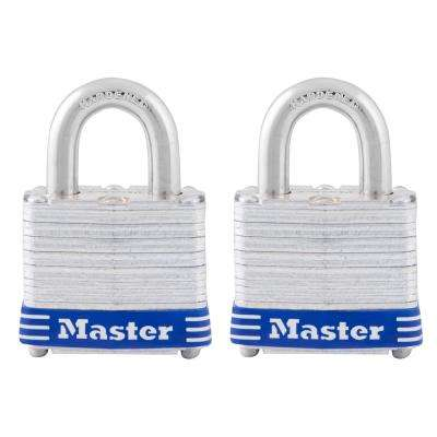 3TLD 1-9/16 in. Laminated Steel Padlock (2-Pack)