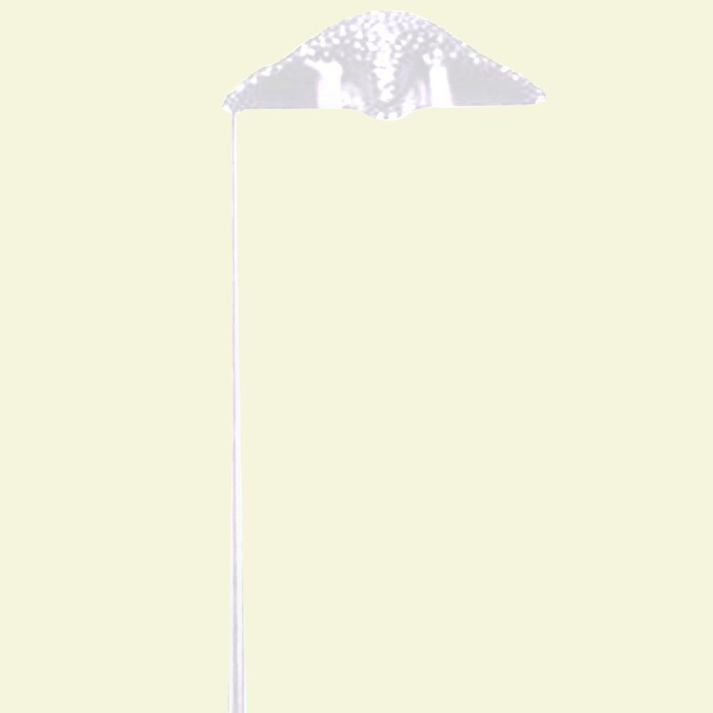 Filament Design Centennial White Textured Outdoor LED Path Light