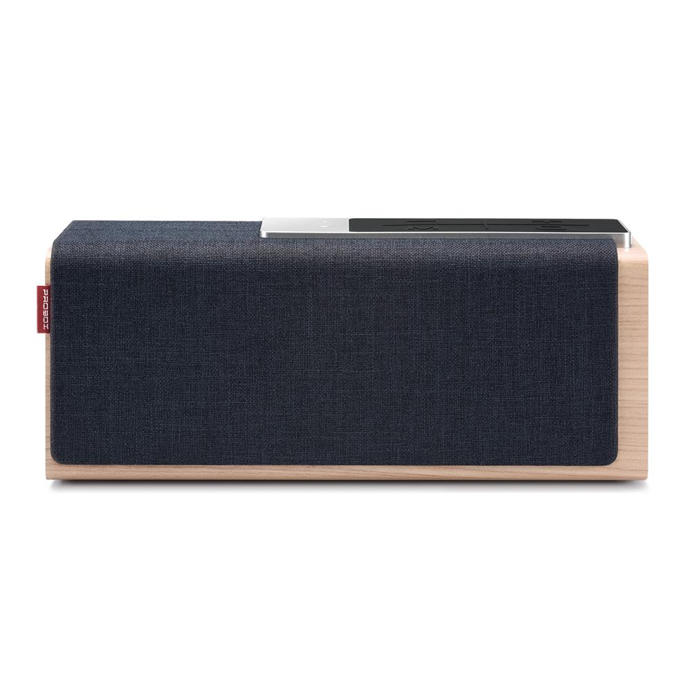 ProBox Teana Wood Wireless Bluetooth Speaker in Blue