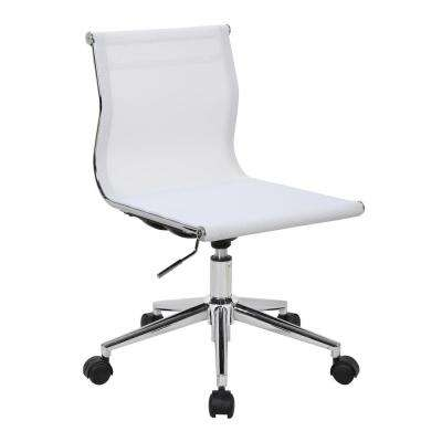 Mirage White Task Chair