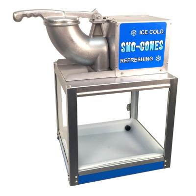 Simply-A-Blast 8000 oz. Blue Stainless Steel Countertop Snow Cone Machine