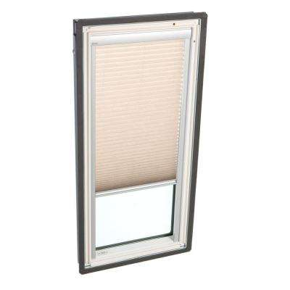 Manual Light Filtering Lovely Latte Skylight Blinds for FS C04 Models