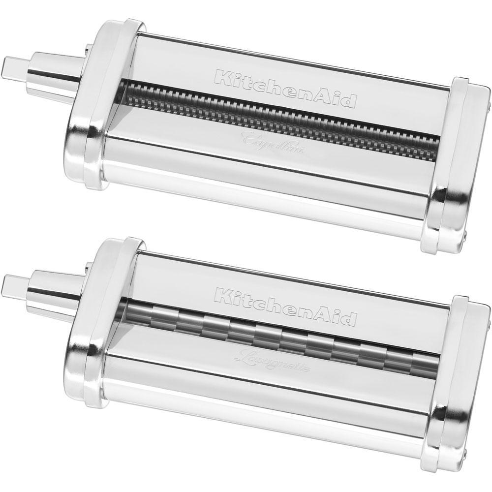 Capellini and Lasagnette Cutter Attachments for KitchenAid Stand Mixer