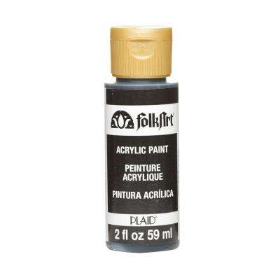 2 oz. Pure Black Acrylic Craft Paint
