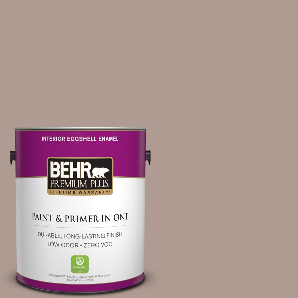 BEHR Premium Plus 1-gal. #N170-4 Coffee with Cream Eggshell Enamel Interior Paint