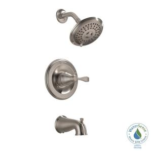 Marvelous Porter Single Handle 3 Spray Tub And Shower Faucet In Brushed Nickel (Valve